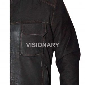 Brand New Sheepskin Original Leather Bomber Jacket for Men Chocolate Color Style