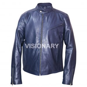 Brand New Men's Lambskin Original Leather Jacket for Men Biker Café Racer Moto