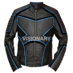 New Sheepskin Original Leather Jacket for Men Soft Biker Style Normal Padding